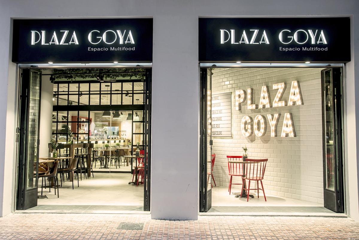 Frontal de Plaza Goya
